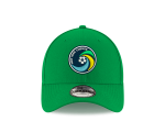 NY COSMOS NEW ERA 940 ADJUSTABLE CAP  - KELLY GREEN