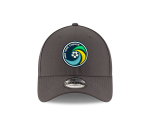NY COSMOS NEW ERA 940 ADJUSTABLE CAP - GRAY